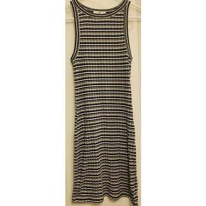 Vans Bodycon Striped Knit Dress
